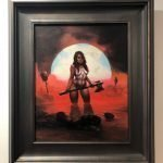 Frazetta Girl, by Travis Franklin